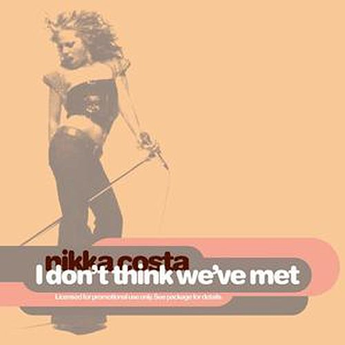 I Don't Think We've Met by Nikka Costa
