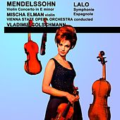 Play & Download Mendelssohn Violin Concerto & Lalo Symphonie Espagnole by Vienna State Opera Orchestra | Napster