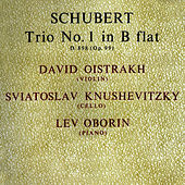 Play & Download Schubert: Trio No 1 In B Flat by David Oistrakh | Napster