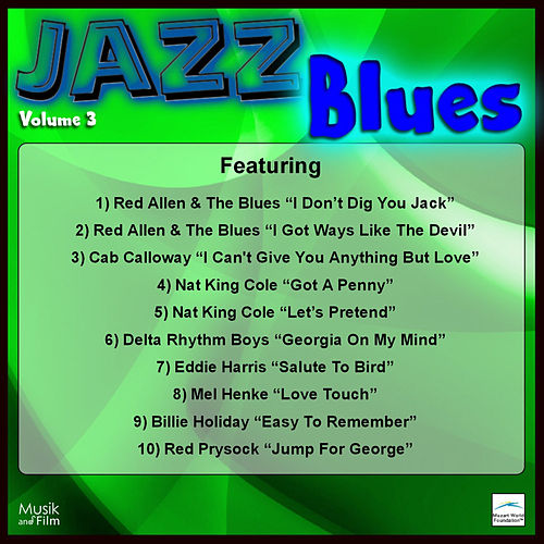 Jazz Blues, Vol. 3 by Various Artists