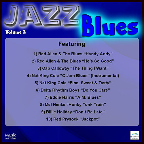 Play & Download Jazz Blues, Vol. 2 by Various Artists | Napster