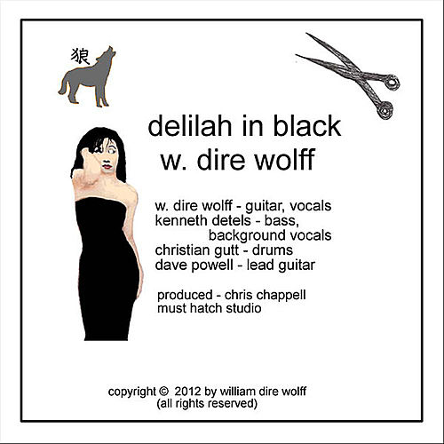 Delilah in Black by W. Dire Wolff
