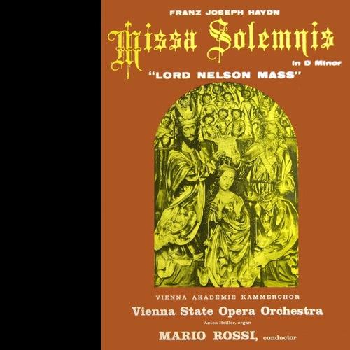 Missa Solemnis In D Minor by Vienna State Opera Orchestra