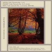 Haydn, Mozart & Bach by Isaac Stern