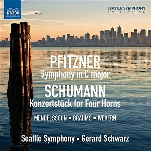 Pfitzner: Symphony in C major - Schumann: Koncertstück for Four Horns by Various Artists
