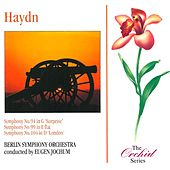 Haydn: Symphonies 94,99 & 104 by Berlin Symphony Orchestra