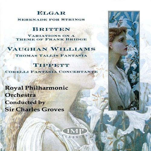 Elgar/Britten/Vaughan Williams/Tippett by Royal Philharmonic Orchestra