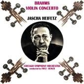 Play & Download Brahms Violin Concerto by Jascha Heifetz | Napster
