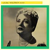 Recital by Ljuba Welitsch