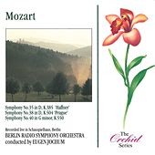 Mozart: Symphonies 35, 38 & 40 by Berlin Symphony Orchestra