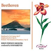 Beethoven: Symphonies Nos 5 & 8 And Prometheus Overture by Berlin Symphony Orchestra
