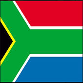 South Africa National Anthem by Brian Haner