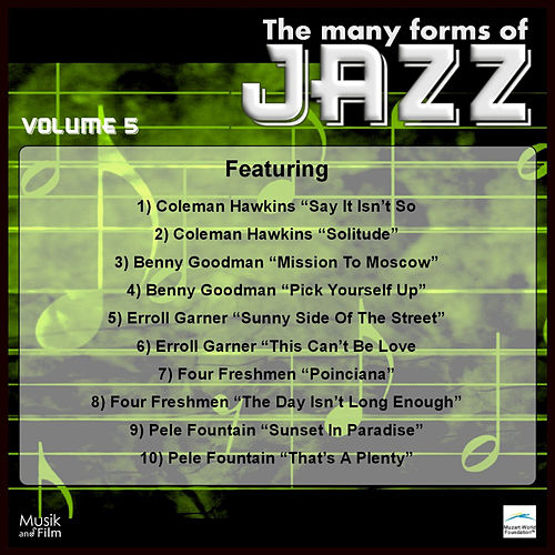 Play & Download The Many Forms of Jazz, Vol. 5 by Various Artists | Napster