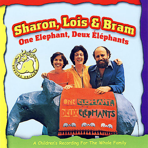 One Elephant, Deux Elephants by Sharon Lois and Bram