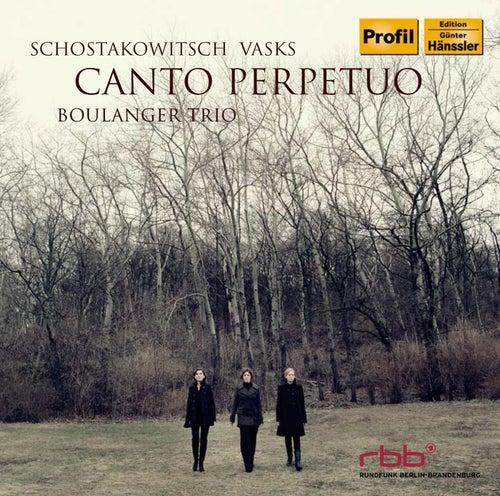 Canto Perpetuo de Boulanger Trio