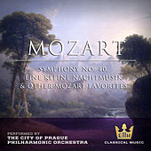Mozart : Symphony No. 40, Eine Keine Nachtmusick & Other Mozart Favorites by City of Prague Philharmonic