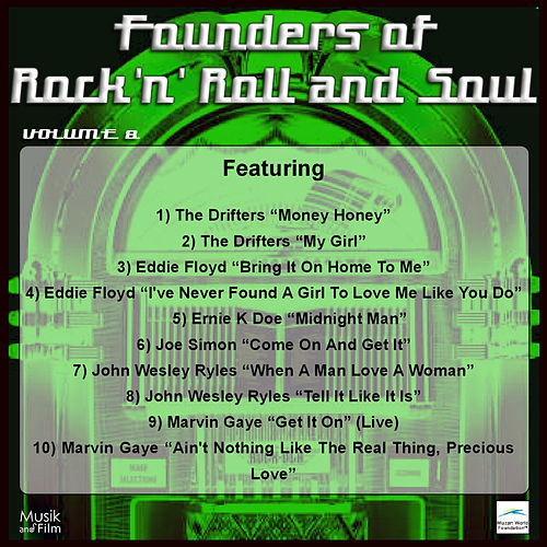 Play & Download Founders of Rock 'n' Roll and Soul, Vol. 8 by Various Artists | Napster