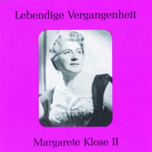 Play & Download Lebendige Vergangenheit - Margarete Klose (Vol.2) by Various Artists | Napster