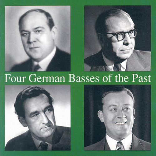 Four German Basses of the Past by Various Artists