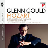 Glenn Gould plays Mozart: The Piano Sonatas (No. 10: Recordings of 1958 & 1970); Fantasias K. 397 & K. 475; Fantasia & Fugue K. 394; Piano Concerto No. 24 K. 491 by Glenn Gould