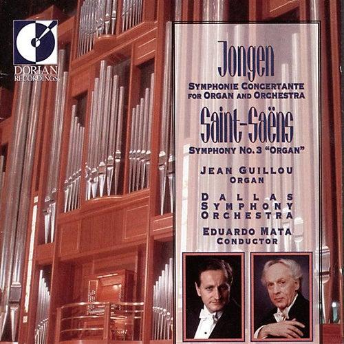 Jongen, J.: Symphonie Concertante / Saint-Saens, C.: Symphony No. 3 by Jean Victor Arthur Guillou