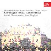 Falla, Schubert: Čarodějná láska, Rosamunda, L' Apprenti Sorcie by Czech Philharmonic Orchestra