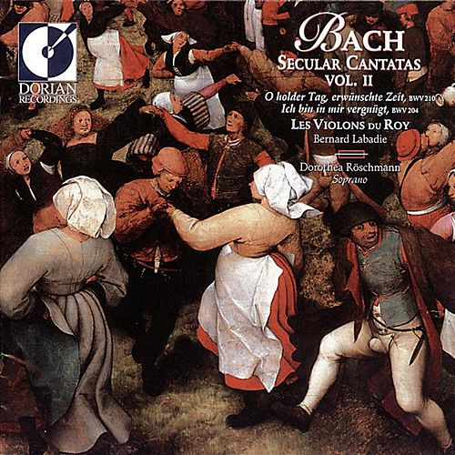 Play & Download Bach, J.S.: Secular Cantatas, Vol. 2 - Bwv 204, 210 by Dorothea Roschmann | Napster