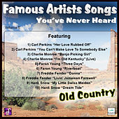 Famous Artists Songs You've Never Heard Old Country, Vol. 2 by Various Artists