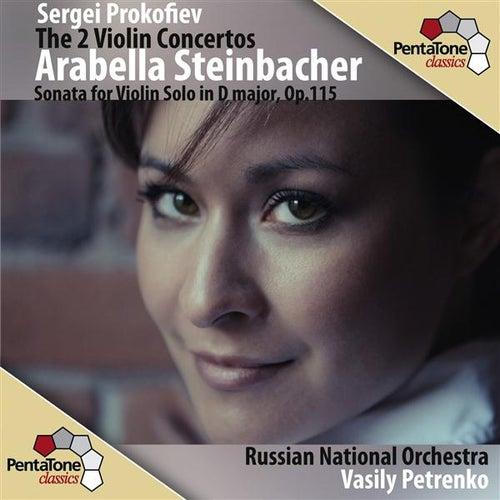 Play & Download Prokofiev: The 2 Violin Concertos by Arabella Steinbacher | Napster