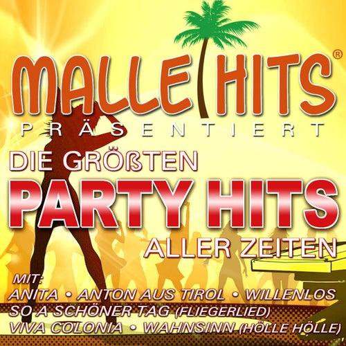 Play & Download Malle Hits präsentiert die größten Party Hits aller Zeiten by Various Artists | Napster