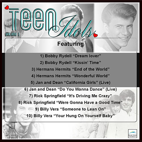 Teen Idols, Vol.1 by Various Artists