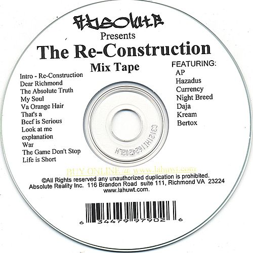 Play & Download The Reconstruction by Various Artists | Napster