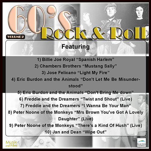 60's Rock and Roll, Vol. 2 by Various Artists