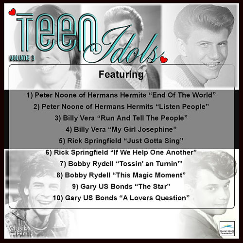 Play & Download Teen Idols, Vol. 3 by Various Artists | Napster