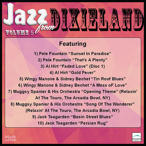 Play & Download Jazz from Dixieland, Vol. 5 by Various Artists | Napster