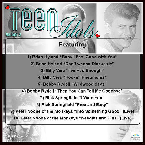 Play & Download Teen Idols, Vol.2 by Various Artists | Napster