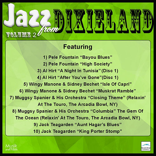 Jazz from Dixieland, Vol. 2 by Various Artists