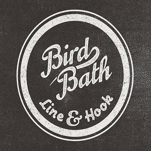 Line & Hook by Bird Bath