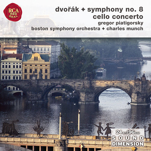 Dvorak Symphony No. 8; Cello Concerto by Charles Munch