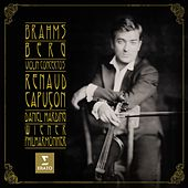 Play & Download Brahms Berg Violin Concertos by Renaud Capuçon | Napster