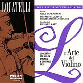 Locatelli: L'arte del Violino Op.3, Vol. 1 & 2 by Mela Tenenbaum