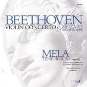 Play & Download Beethoven Violin Concerto & Mozart Adelaide Concerto by Mela Tenenbaum | Napster
