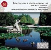 Beethoven, Piano Concertos Nos. 4 & 5 by Emanuel Ax