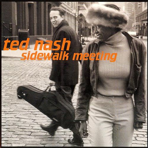 Sidewalk Meeting by Ted Nash