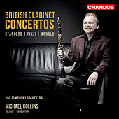 British Clarinet Concertos by Michael Collins