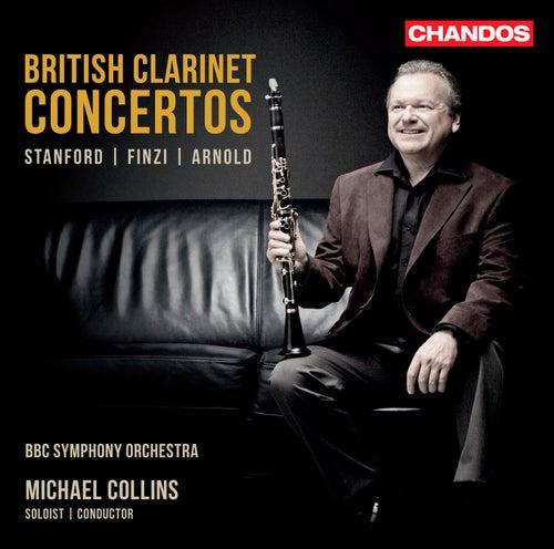 British Clarinet Concertos by Michael Collins