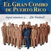 ¡aqui Estamos Y De Verdad! by El Gran Combo De Puerto Rico