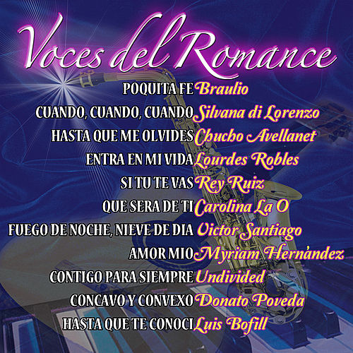 Play & Download Voces del Romance by Various Artists | Napster