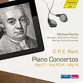 Play & Download Bach: Piano Concertos, Wq. 17, 43/4 & 14 by Michael Rische | Napster