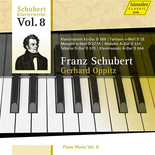 Schubert: Piano Works, Vol. 8 by Gerhard Oppitz